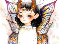 2-butterfly-drawing-by-dou-leung
