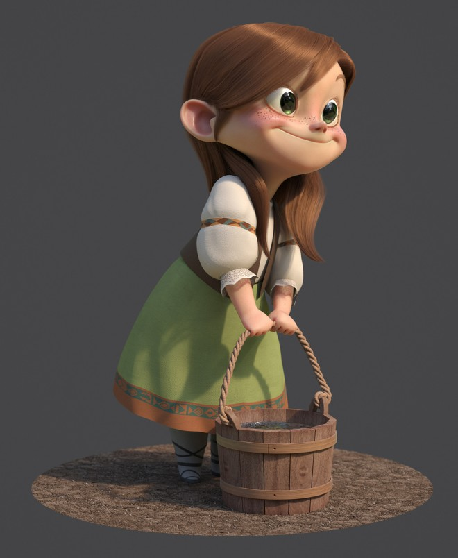 gretel 3d design by guzz soares