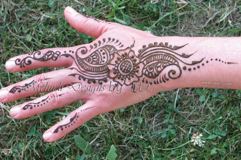 mehndi design by iti kalsi