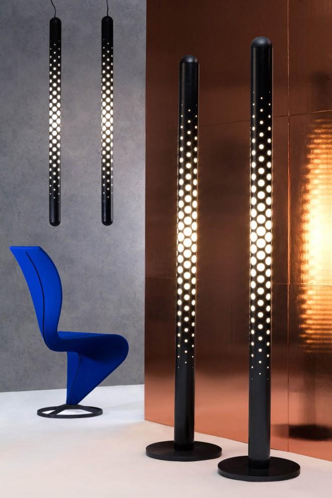 cut tube lighting design
