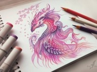 4-dragon-color-pencil-drawing-by-alvia-alcedo
