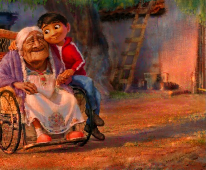 mama coco animation movie coco