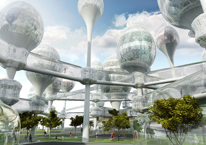 korea futuristic city design ideas