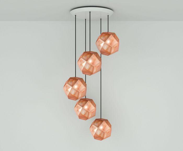 copper pendant lighting design