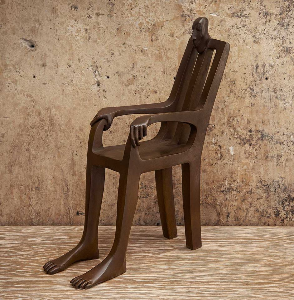 Creative Chair Sculpture by Isabel Miramontes