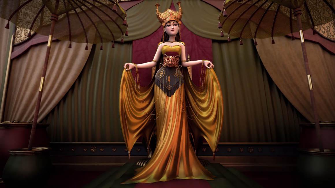 3d dragon lady by jonathan giosia