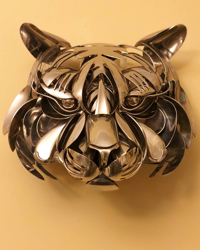 50 Beautiful And Creative Metal Sculptures And Metal Wall