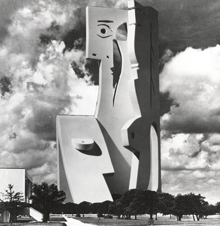 architecture sculpture design by pablo picasso