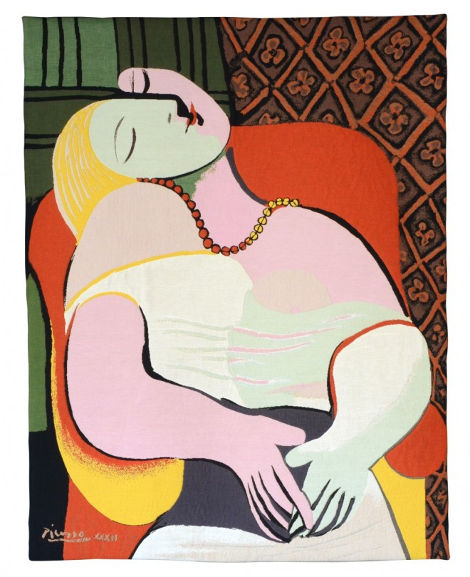 le reve painting by pablo picasso