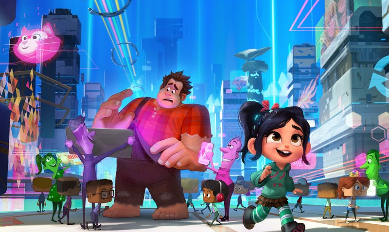 ralph breaks the internet animation movies 2018