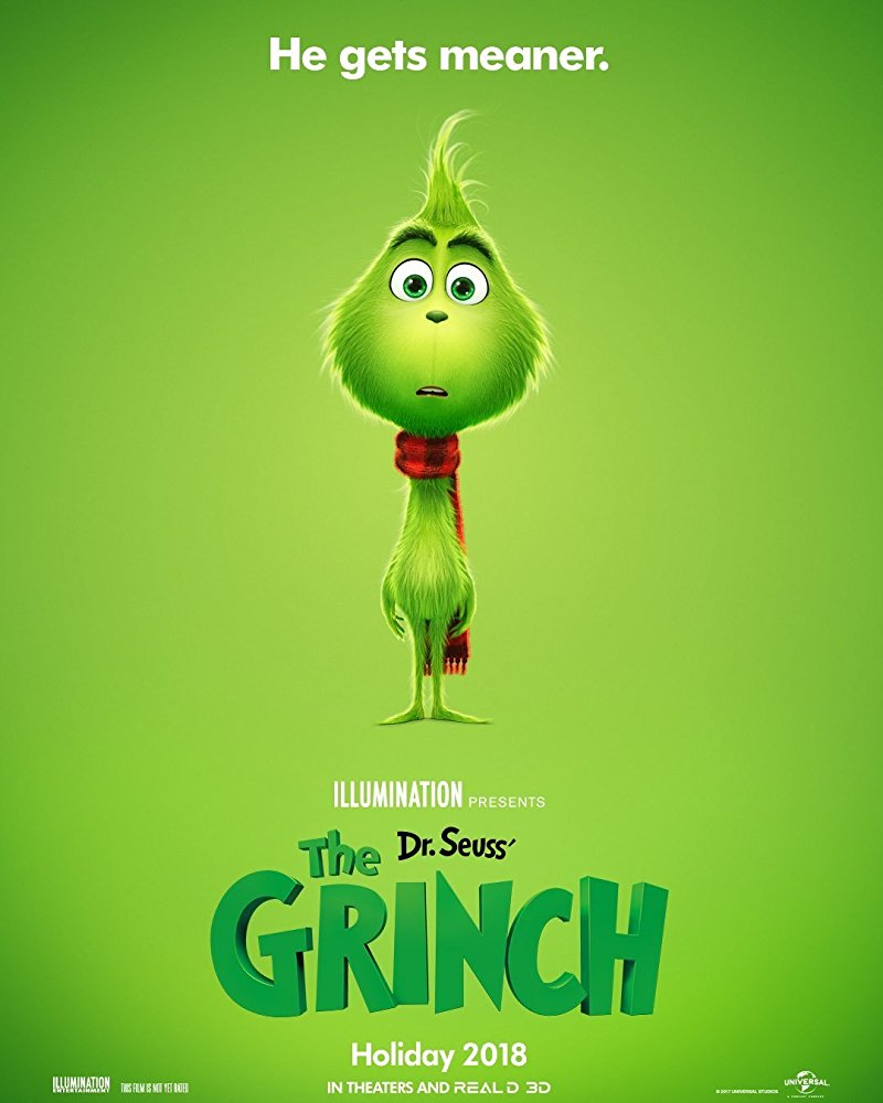 the grinch animation movies 2018