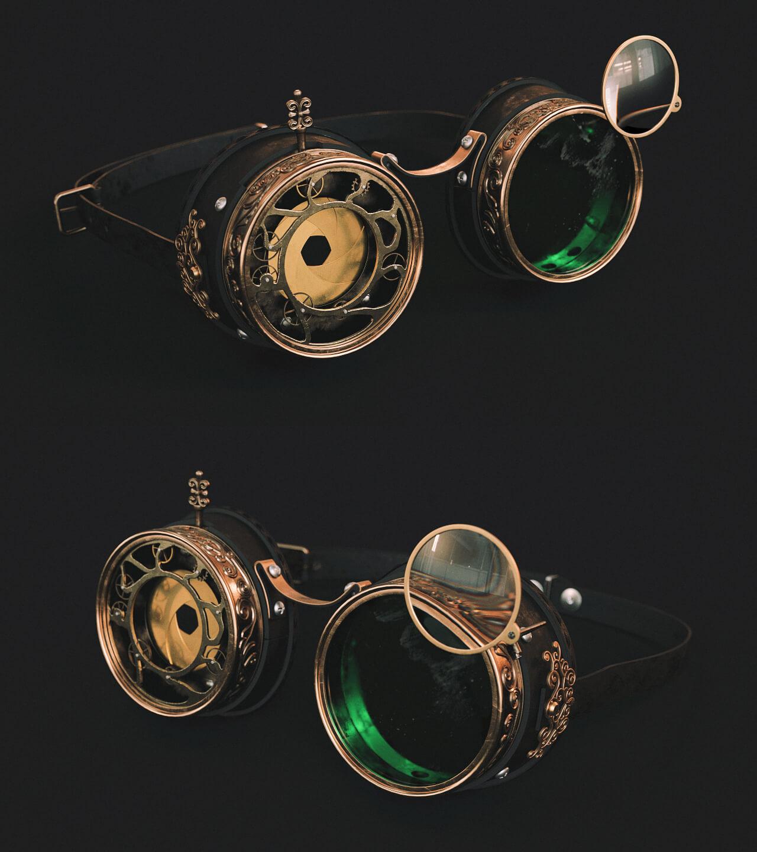 steampunk modelling design by dmitriy zhavoronkov