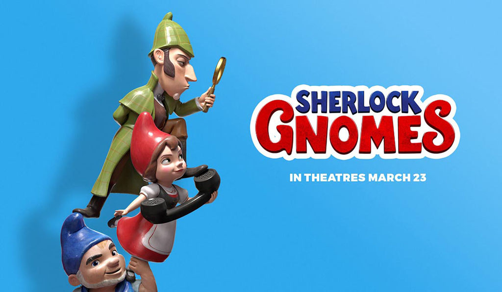 sherlock gnomes animation movies 2018