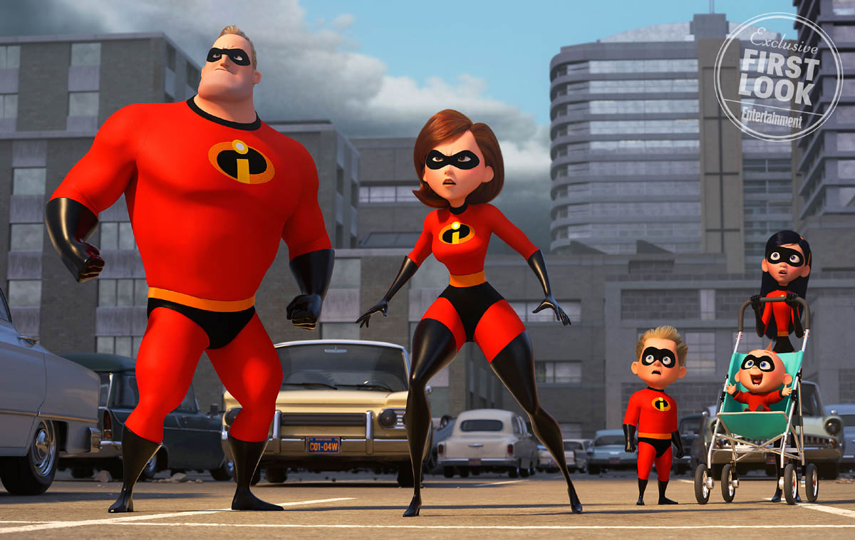 incredibles2 animation movies 2018