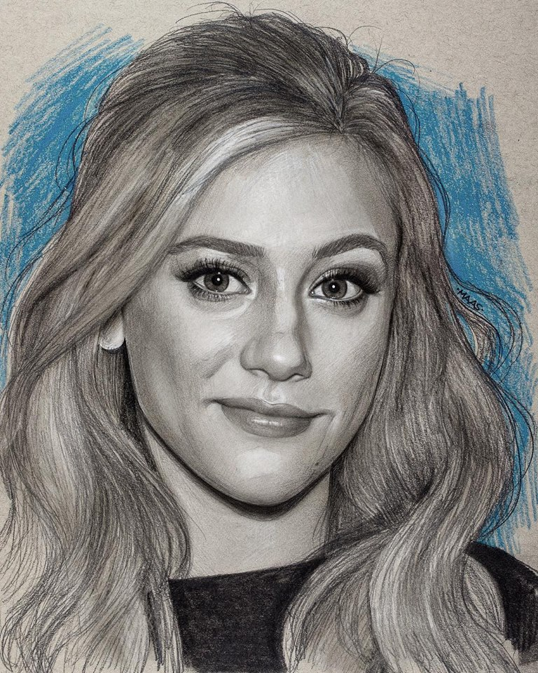 graphite drawing sketches lilireinhart