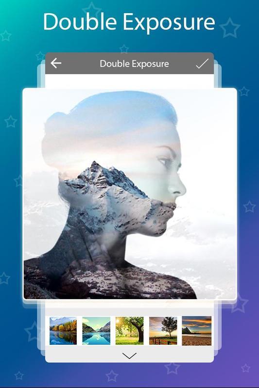 double exposure app blendme