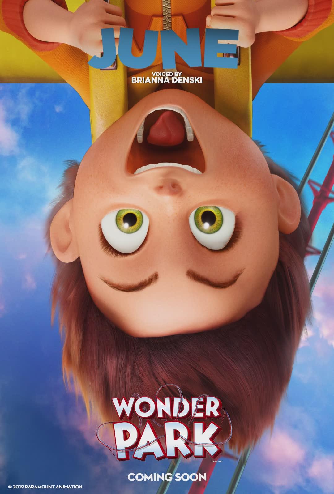 3d animation movie june wonder park