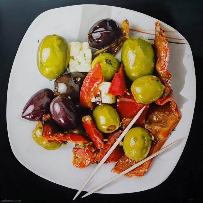 25 stunning hyper realistic oil paintings by tom martin - Hyper cuisine ...