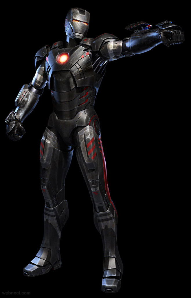 iron man 3d robot