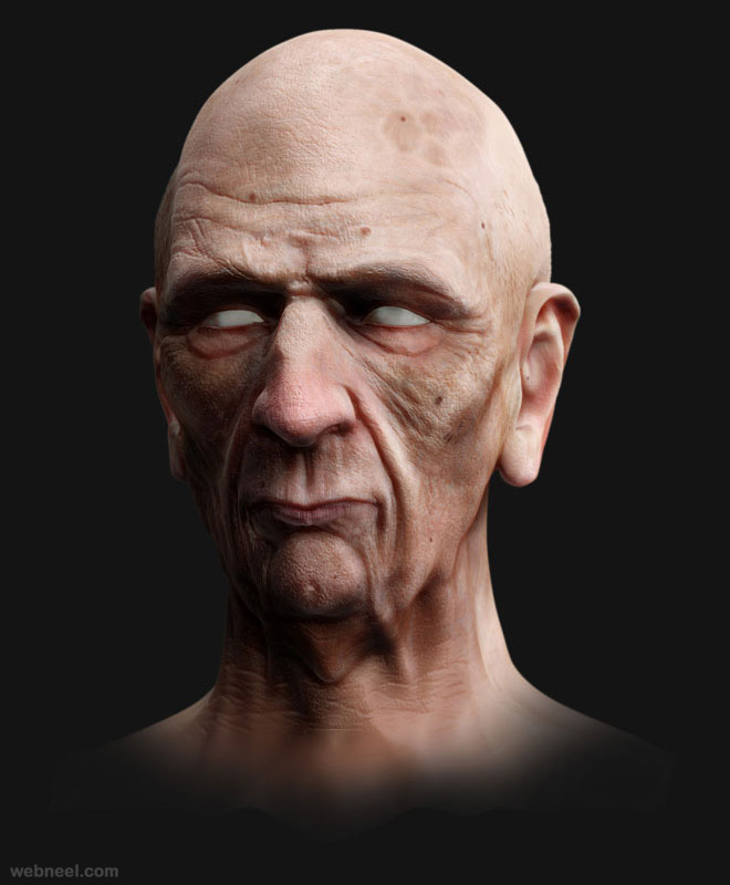 zbrush game character by samuel