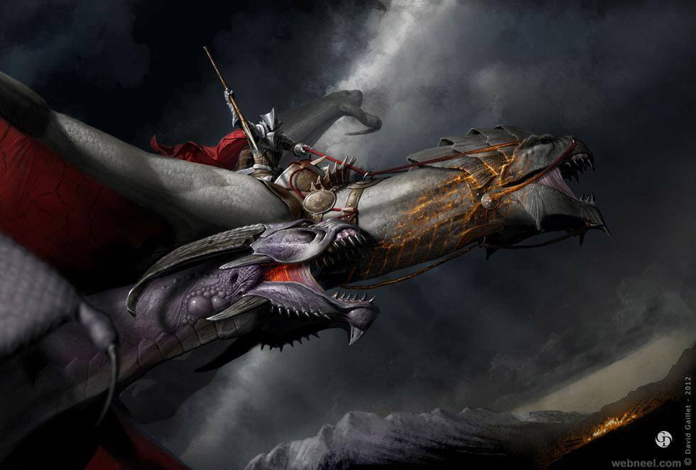 fantasy digital painting