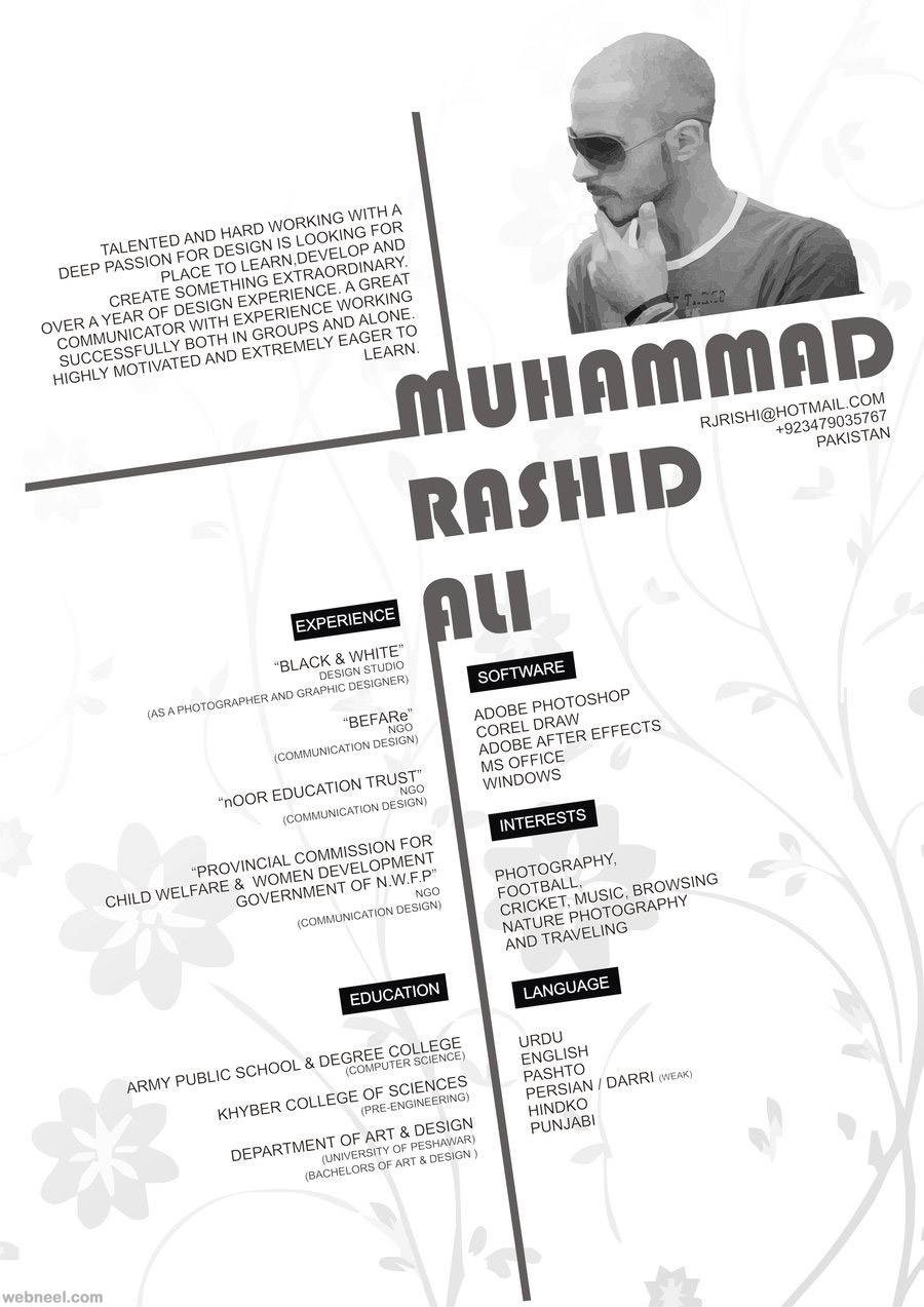 ... Resume Design ...  Sample Resume Designs