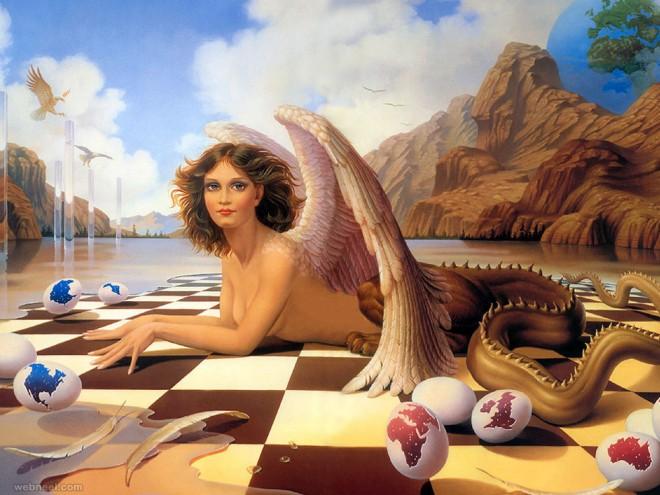 best surreal paintings art work