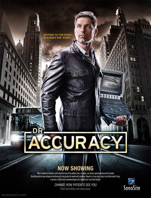 accuracy creative movie poster