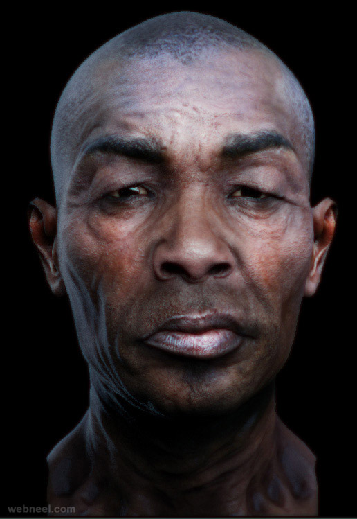Head Vray Model 19 - Preview