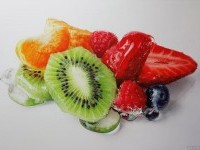 3-fruits-hyper-realistic-painting-by-tom-martin