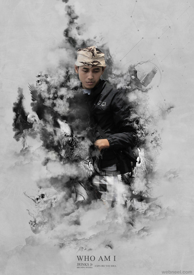 smoke photo manipulation by bagus dony