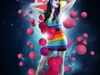 5-photo-effect-girl-party-color