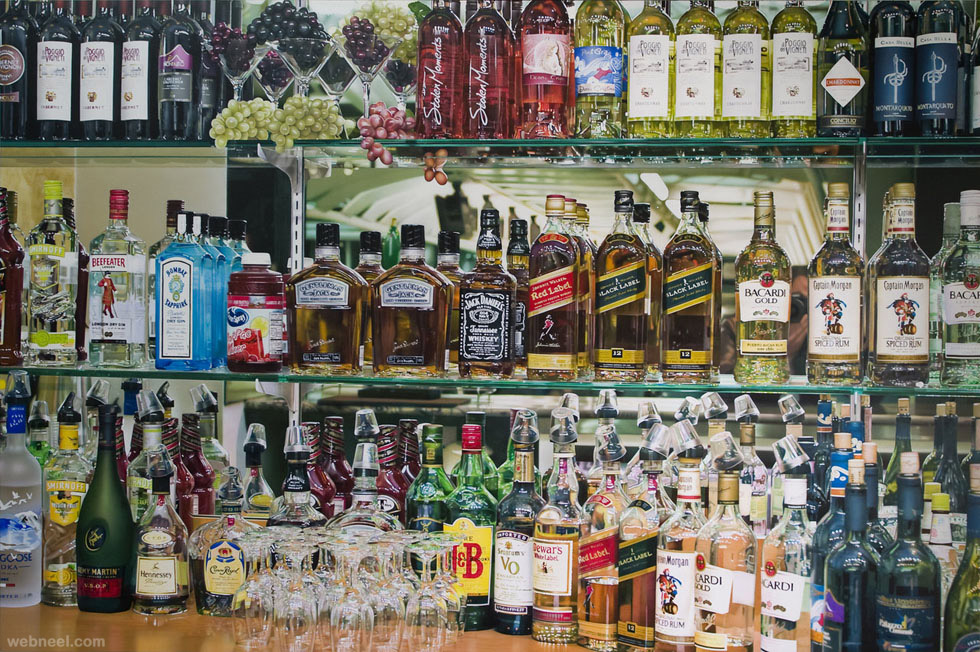 beverages hyper realistic painting by tom martin