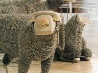 creative-sculpture-sheep-telephone