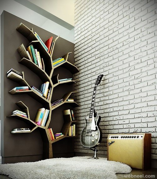 creative tree book shelf