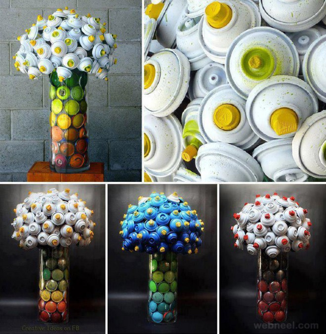 gorgeous spraycan bouquets