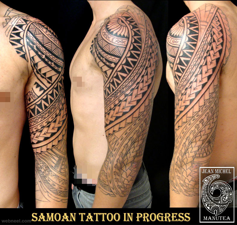 tribal sleeve tattoos