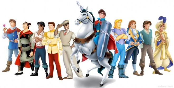 disney cartoons heros