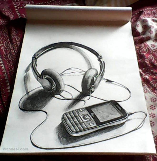 3d pencil drawings 24