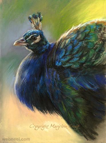 bird drawing digital