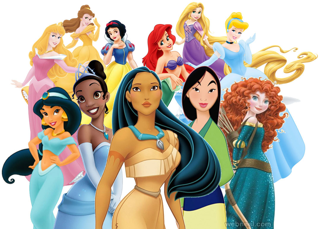 disney cartoon princess