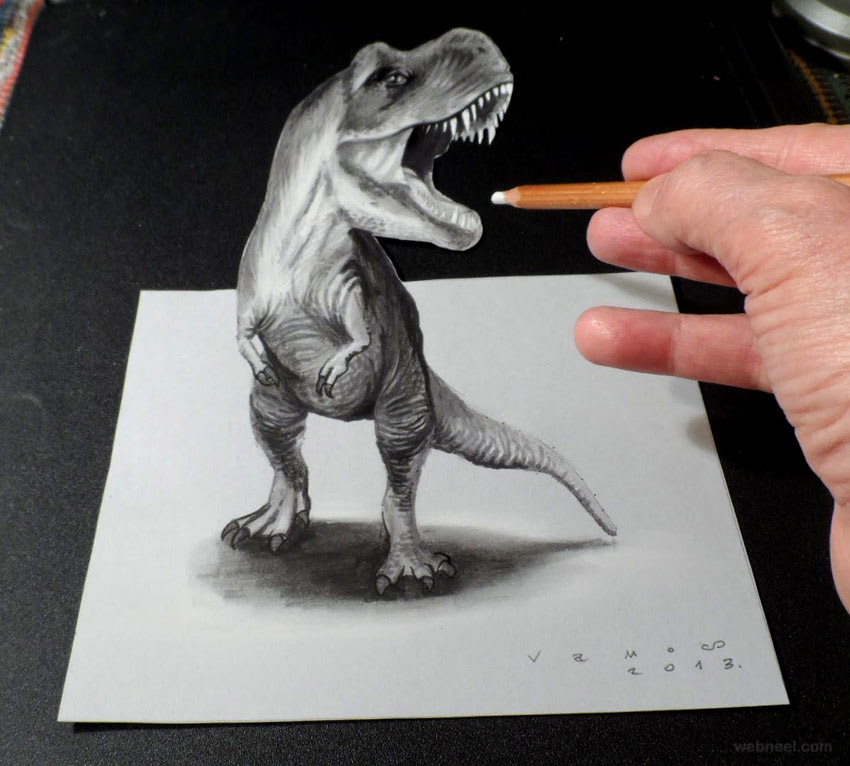 3D Pencil Sketch Techniques