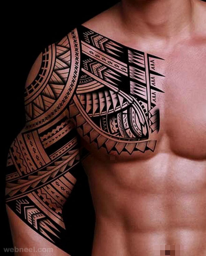 tattoos tribal shoulder tribal tattoos