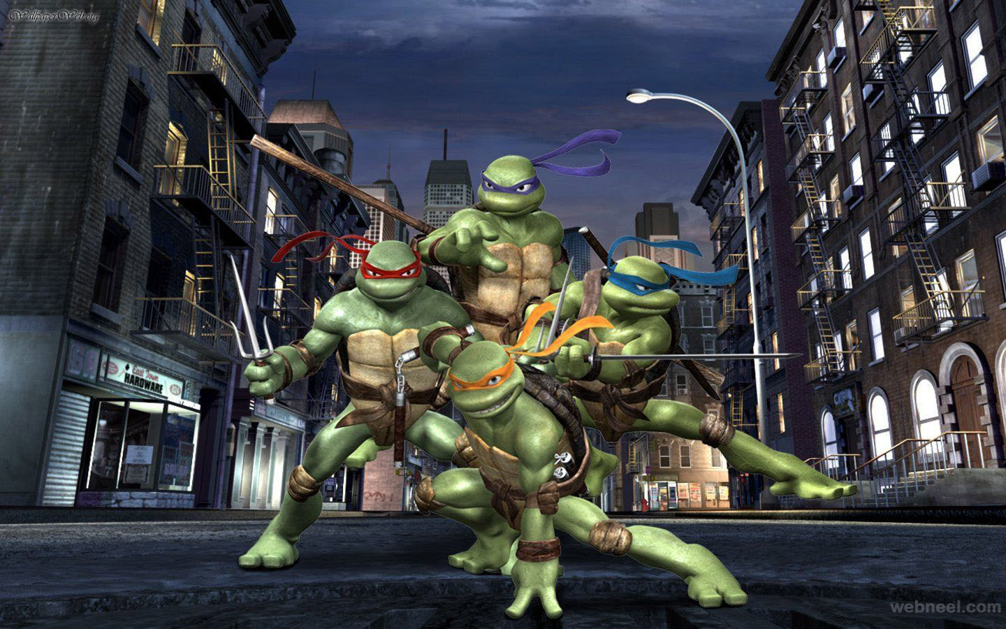 teenage mutant ninja turtles wallpaper 1 Full Image