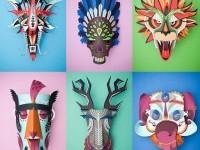 1-paper-sculpture-mask