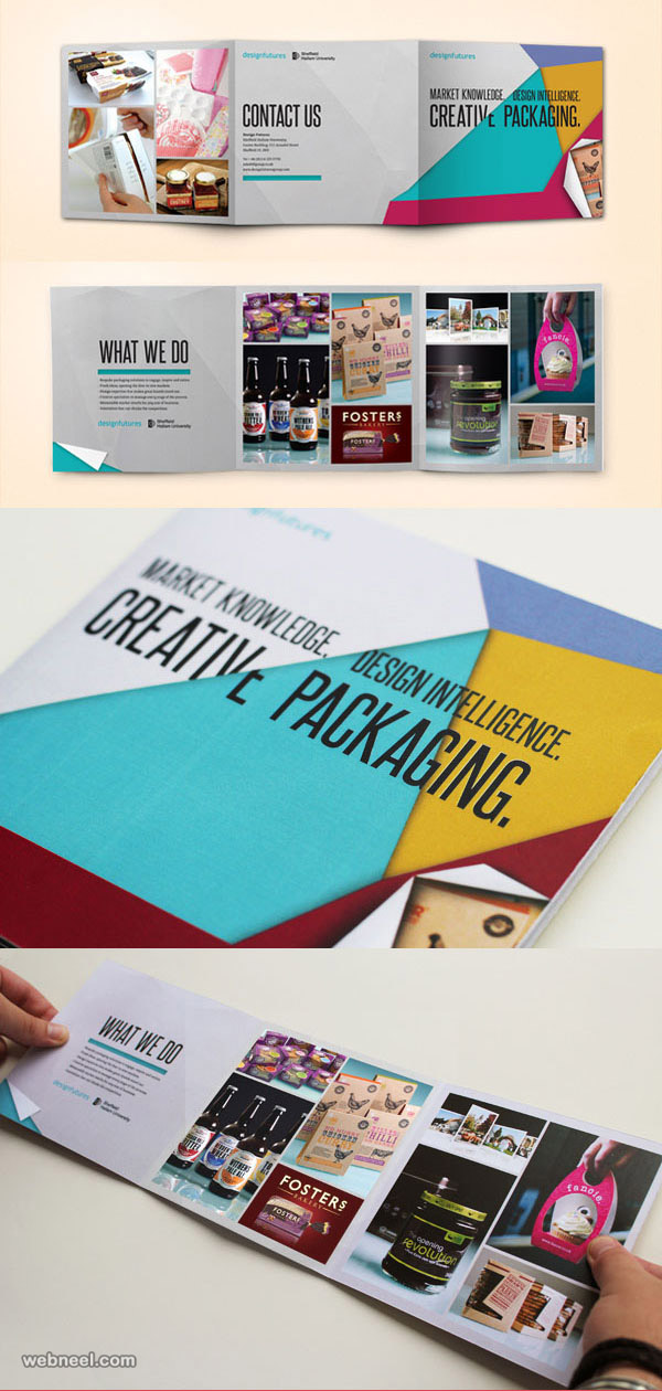 pictorial brochure design