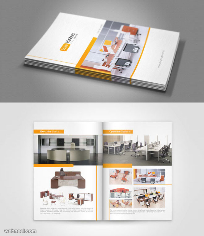 Furniture Brochure: 25 Best Brochure Design Examples And Ideas For Your