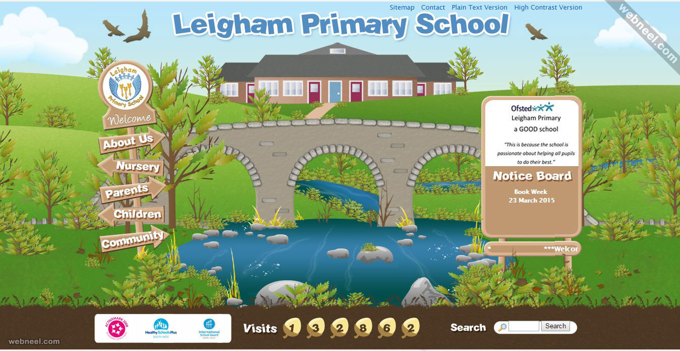 school website leigham