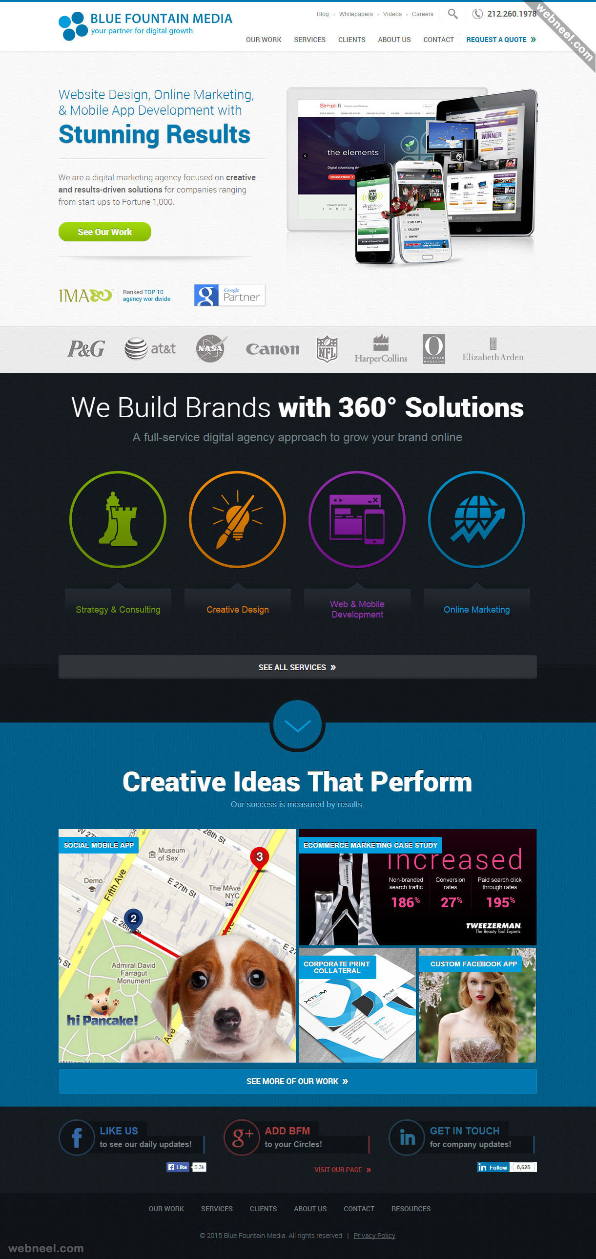 top design company bluefountainmedia nyc