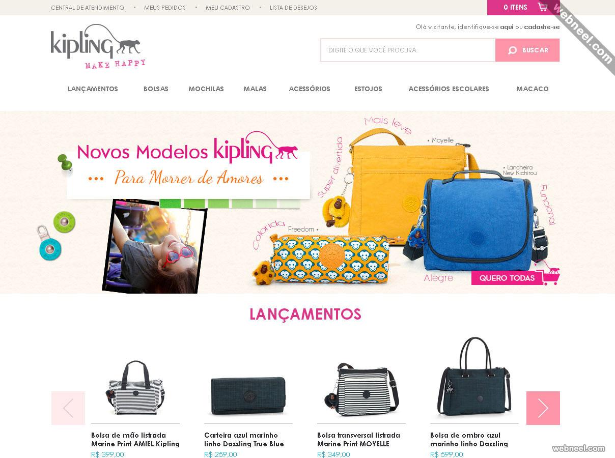 e commerce website kipling